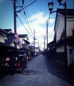 篠山の城下町「河原町」